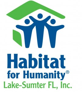 EUSTIS, Florida (July 13, 2013) Habitat for Humanity of Lake-Sumter logo  (Image Courtesy of Habitat for Humanity of Lake-Sumter, Fl).
