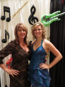 Event Co-Founders Shelly Gerig (left) and her daughter Haley Gerig before the Sweet Treats for a Cause on Saturday, January 12, 2013. (Photo: Michelle Turner).