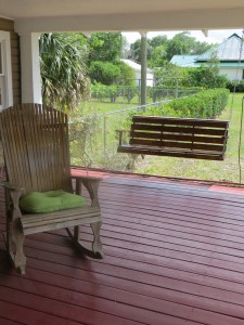 UMATILLA, Florida (April 11, 2013) A warm and inviting front porch greets the residents of the Ruth House. (Photo: Michelle Turner).