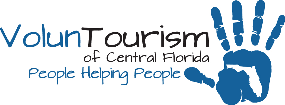 EUSTIS, Florida (July 31, 2013) The VolunTourism logo emphasizes the main mission and goal of the VolunTourism concept: People Helping People. (Logo image courtesy of Habitat for Humanity of Lake-Sumter).